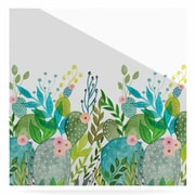 East Urban Home 'Cute Foliage' Watercolor Painting Print on Metal