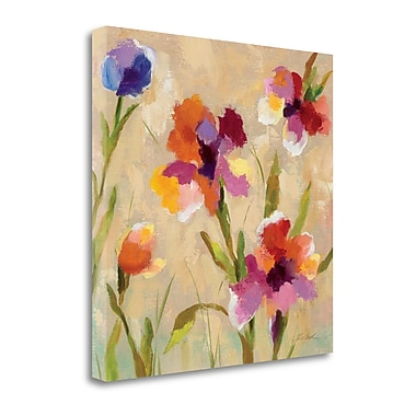 Tangletown Fine Art 'Bold Bright Flowers III' by Silvia Vassileva Painting Print on Wrapped Canvas