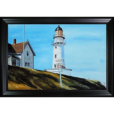 Tori Home 'Light at Two Lights' by Edward Hopper Oil Painting Print on Canvas