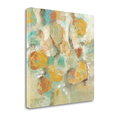 Tangletown Fine Art 'Sunshine Reflections' by Silvia Vassileva Painting Print on Wrapped Canvas