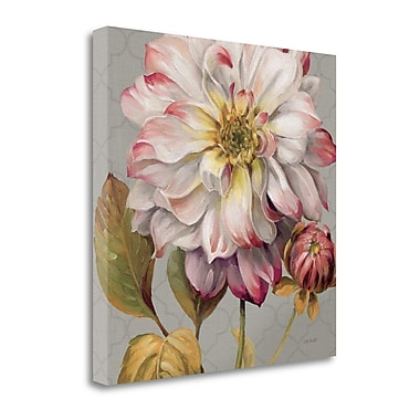 Tangletown Fine Art 'Classically Beautiful II' by Lisa Audit Painting Print on Wrapped Canvas