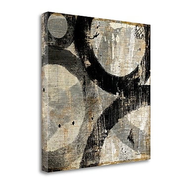 Tangletown Fine Art 'Industrial II' by Michael Mullan Painting Print on Wrapped Canvas