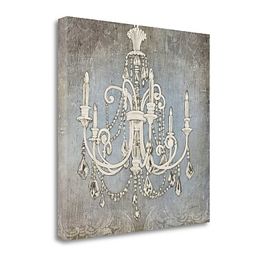 Tangletown Fine Art 'Luxurious Lights III' Graphic Art Print on Canvas; 35'' H x 35'' W