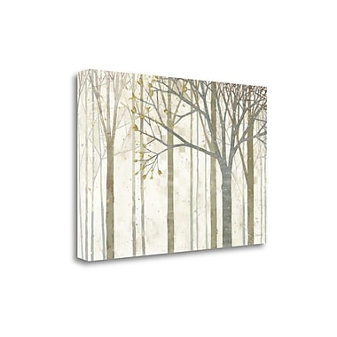 Tangletown Fine Art 'In Springtime no Border' by Kathrine Lovell Painting Print on Wrapped Canvas