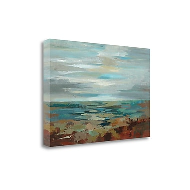 Tangletown Fine Art 'Marine Layer' by Silvia Vassileva Painting Print on Wrapped Canvas