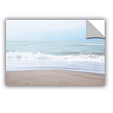 ArtWall Pastel Beach Wall Decal; 12'' H x 18'' W x 0.1'' D