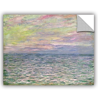 ArtWall On the High Seas Sunset at Pourville Wall Decal; 24'' H x 32'' W x 0.1'' D