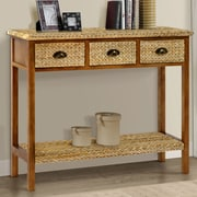 World Menagerie Dimitri Console table; Natural