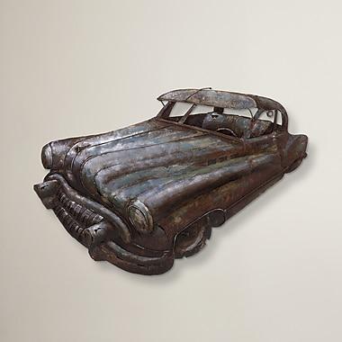 17 Stories Vintage Car Iron Wall D cor