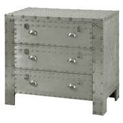 17 Stories Leandra Industrial 3 Drawer Chest