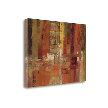 Tangletown Fine Art 'Sunset Street Crop' by Silvia Vassileva Painting Print on Wrapped Canvas