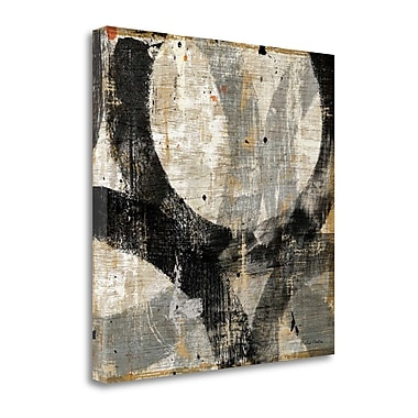 Tangletown Fine Art 'Industrial III' by Michael Mullan Painting Print on Wrapped Canvas