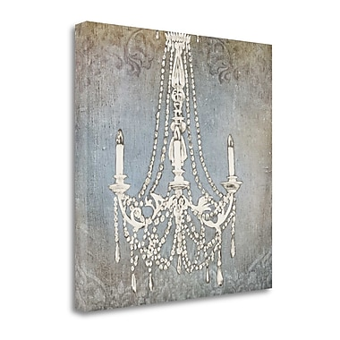 Tangletown Fine Art 'Luxurious Lights IV' by James Wiens Graphic Art on Wrapped Canvas