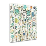 Tangletown Fine Art 'Ocean Garden I Square' by Candra Boggs Graphic Art on Wrapped Canvas