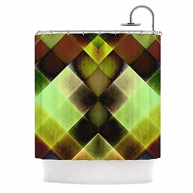 East Urban Home 'Colorful Squares' Shower Curtain