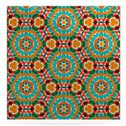 East Urban Home 'Hexagon Tiles' Print on Metal