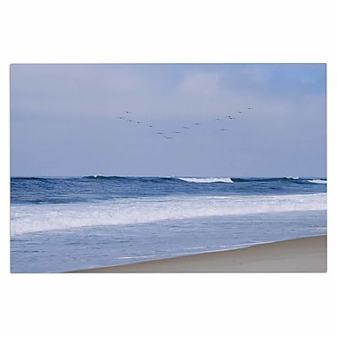 East Urban Home 'Seagulls on the Beach' Doormat