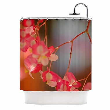 East Urban Home 'Hanging Flowers' Shower Curtain