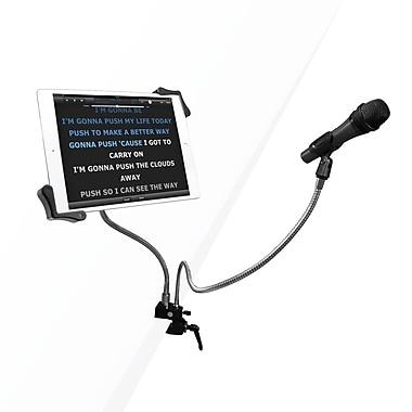 CTA – Support pour tablette et pince pour microphone sur cols de cygne, pour tablettes de 7 à 13 po (PAD-MTG)