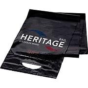 Heritage Litelift 44 Gallon Trash Bags, Low Density, 0.9 Mil, Black, 100 CT, 5 Rolls of 20 Bags per Roll (H7453TKLL1)
