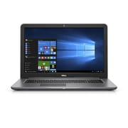 "Dell i5767-5889GRY Inspiron Pro, 17.3"" HD+ Laptop Core i5-7200U, 8GB DDR4, 1TB Hard Drive, Windows 10 Pro, Gray"