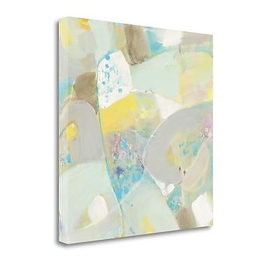 Tangletown Fine Art 'White Rock II' by Albena Hristova Painting Print on Wrapped Canvas