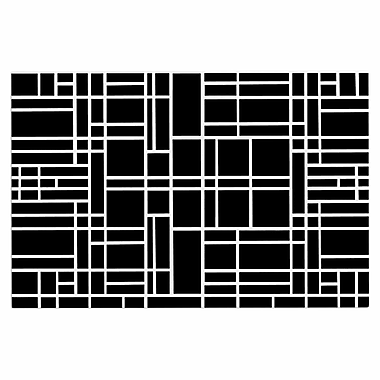 East Urban Home 'Map Outline' Decorative Doormat; Black