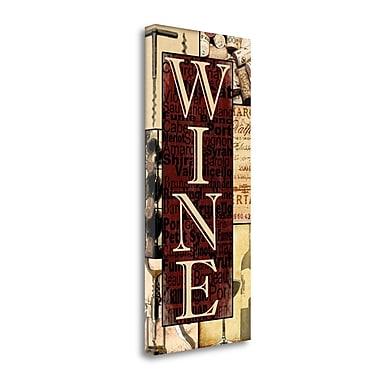 Tangletown Fine Art Wine Essentials' Textual Art on Canvas; 13 ''H x 29 ''W x 1.5''D