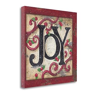 Tangletown Fine Art Joy' Textual Art on Canvas; 20 ''H x 20 ''W x 1.5''D