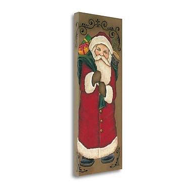 Tangletown Fine Art Santa Clause' Graphic Art Print on Canvas; 16 ''H x 40 ''W x 1.5''D