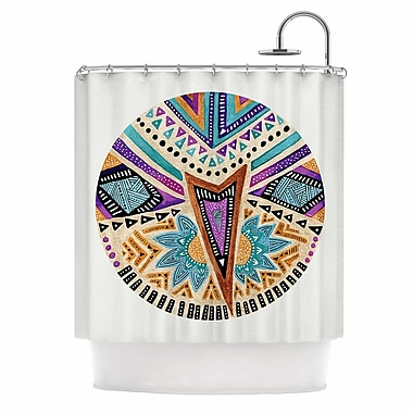 East Urban Home 'Multicultural Icon' Shower Curtain