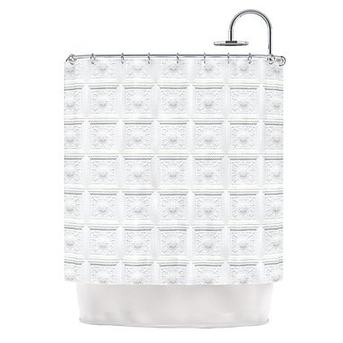 East Urban Home 'Palace Ceiling Tiles' Shower Curtain
