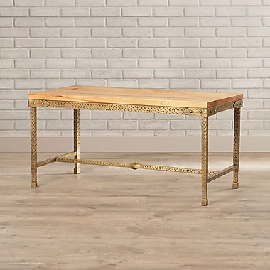 17 Stories Kacey Gold Coffee Table