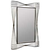 17 Stories Gold Metal Framed Mirror