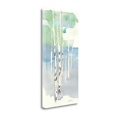 Tangletown Fine Art 'Aspens Panel I' by Avery Tillmon Painting Print on Wrapped Canvas