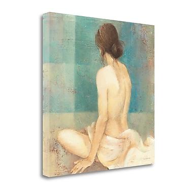 Tangletown Fine Art 'Thoughtfulness II' by Albena Hristova Painting Print on Wrapped Canvas