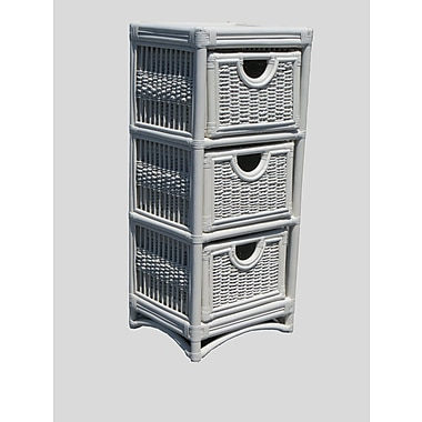 Highland Dunes Cabery 3 Drawer Accent Cabinet