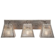 17 Stories Giusto 3-Light Metal Shade Vanity Light