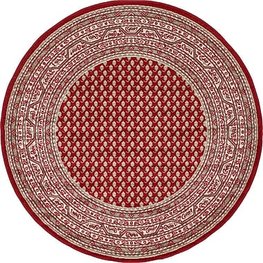 Winston Porter Angie Red Area Rug; 5' x 8'