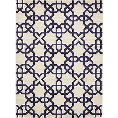 Winston Porter Molly Turkish Trellis Beige Area Rug; 9' x 12'
