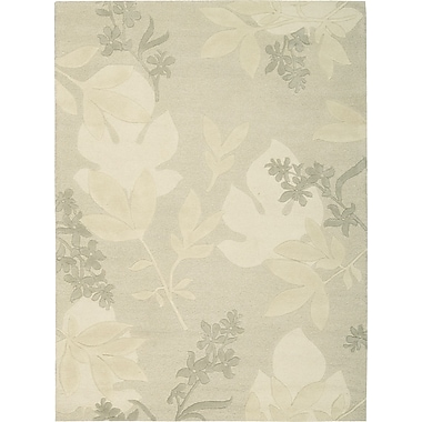 Darby Home Co Peterson Hand-Tufted Gray Area Rug; 5'6'' x 7'5''
