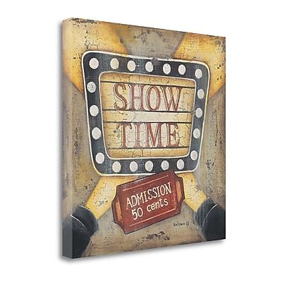 Tangletown Fine Art Show Time' Print on Canvas; 24 ''H x 24 ''W x 1.5''D