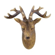 Loon Peak Traditional Deer Wall D cor; 8'' H x 6'' W