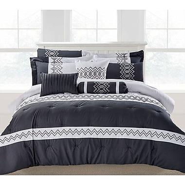 Latitude Run Brandie 9 Piece Comforter Set; King
