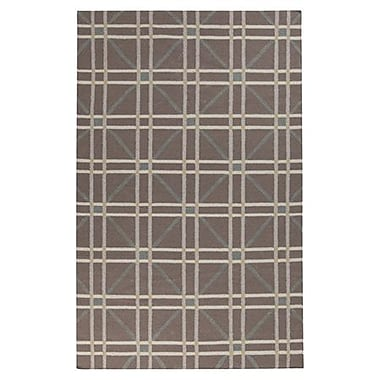 Charlton Home Washingtonville Gray Area Rug; 8' x 11'