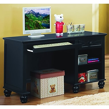 Red Barrel Studio Lochner Computer Desk; Black