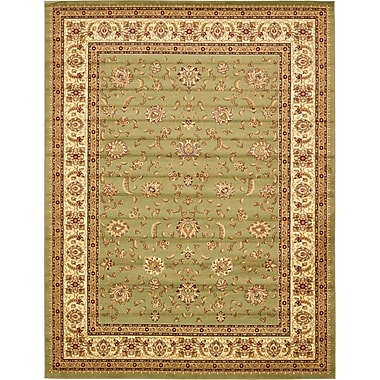 Astoria Grand Niles Light Green Area Rug; 10' x 13'