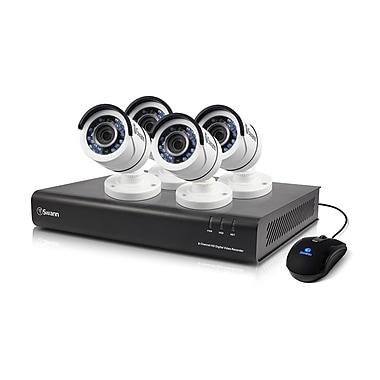 Swann – Système de surveillance DVR à 8 canaux 1080p 2 To, 4 caméras HD PRO-T855 (SWDVK-845004)