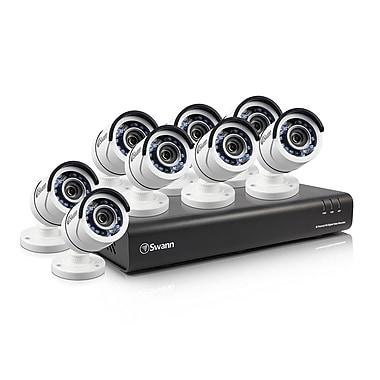 Swann – Système de surveillance DVR à 8 canaux 1080p 2 To, 8 caméras HD PRO-T855 (SWDVK-845008)