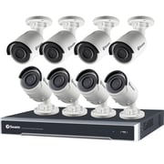Swann 16-Channel 4K HD 4 TB NVR Security System, 8 NHD880 IP Bullet Cams (SWNVK-168008)